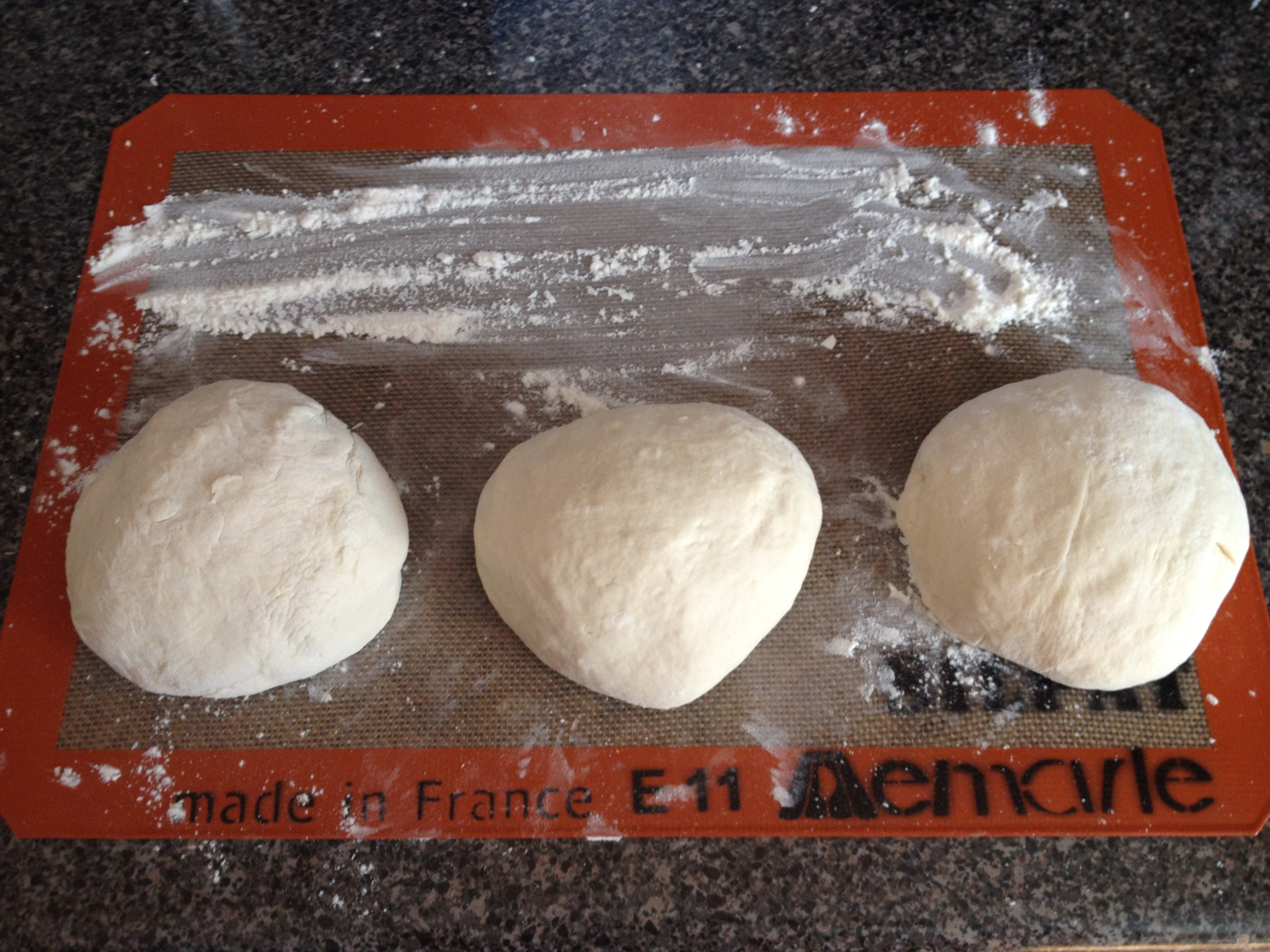 This here pizza dough can be used for any kind of pizza you prefer ...