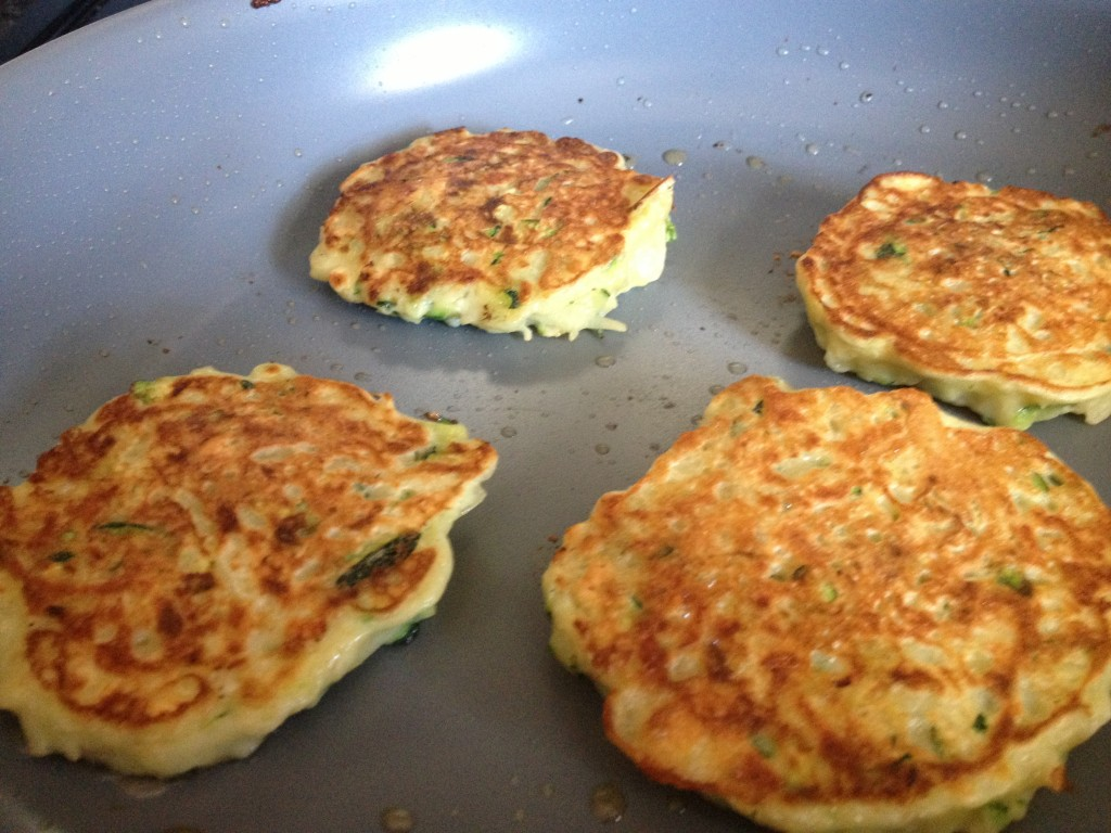 Potato and Zucchini Hash Brown Cakes
